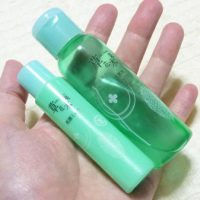 草花木果「竹」の洗顔料と化粧水