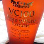 VC100 ポアホワイトローションがリニューアルしましたが、とりあえず旧バージョンの使用感など