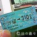 ゆりかもめの切符