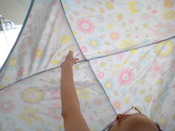 テント天井部分