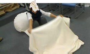 お布団部分は寝袋