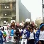 貴布禰神社 大例祭(宵宮)1 辰巳太鼓パレード