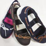 ファッション誌も注目、素足が似合うクロックスのビーチライン ボート シュー