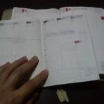 2008年の手帳は、ほぼ日手帳にWEEKLYを導入