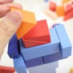 子どもと遊ぼう!新しい形の組むつみき「KUUM」(クーム)を見てきました。