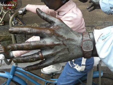 FIRST RIDEのリアルな手
