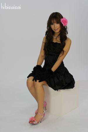 モデルの中村朋美さん