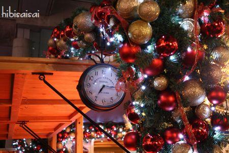 2008年のドイツ・クリスマス・マーケット ヒュッテの飾り