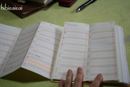 「超」整理手帳 月が変わるとき