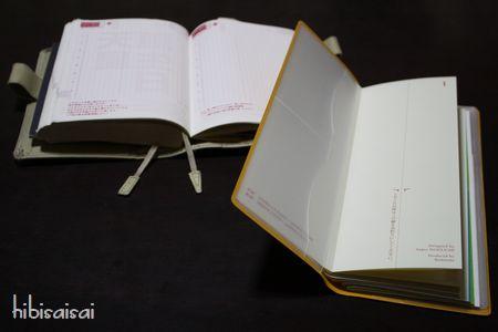 ほぼ日手帳と「超」整理手帳