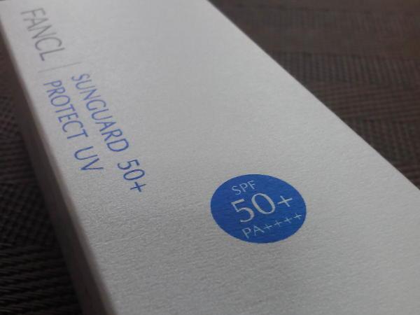 サンガード50+のSPFとPA