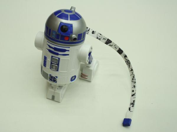 R2-D2メジャーと視線を合わせるとこんな感じ