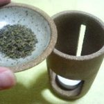 茶香炉でリラックスタイム