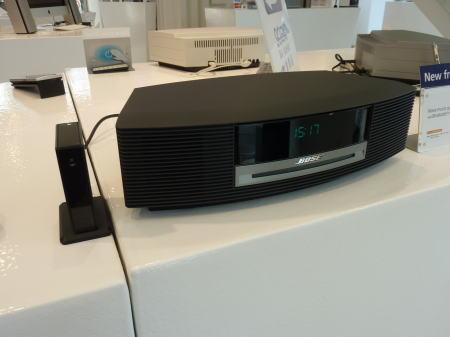 wave music system と Bluetooth Music Adapter