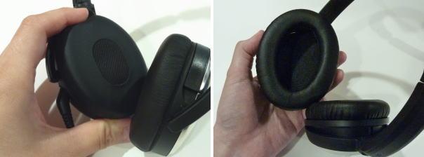 QuietComofort 3 と QuietComofort 15のイヤーカップ比較