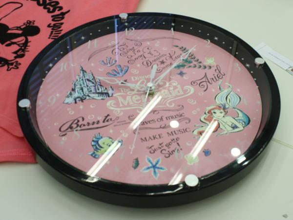 アリエルの壁掛け時計