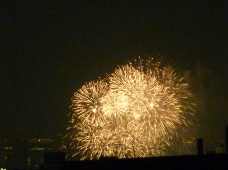 なにわ淀川花火大会 クライマックス