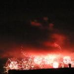 今年の花火は視界不良(汗) 第27回なにわ淀川花火大会