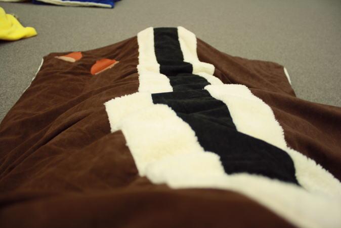 チップ&デールの寝袋