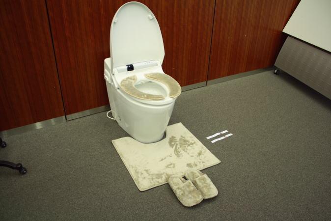とろけるシリーズのトイレ