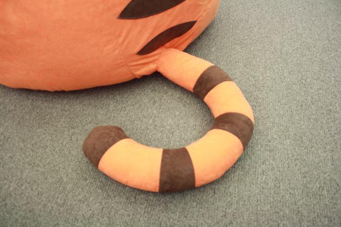 ティガーの尻尾