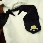 みんなの人気者になれるかも!?ふわもこパンダのアニマルジャンプスーツ