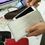 メリディアナ社のイタリアンレザーを使ったビートップス限定の長財布、見てきました