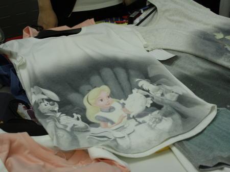 ディズニーの名場面Tシャツ