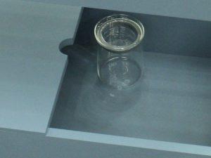 耐熱ガラスの保存容器