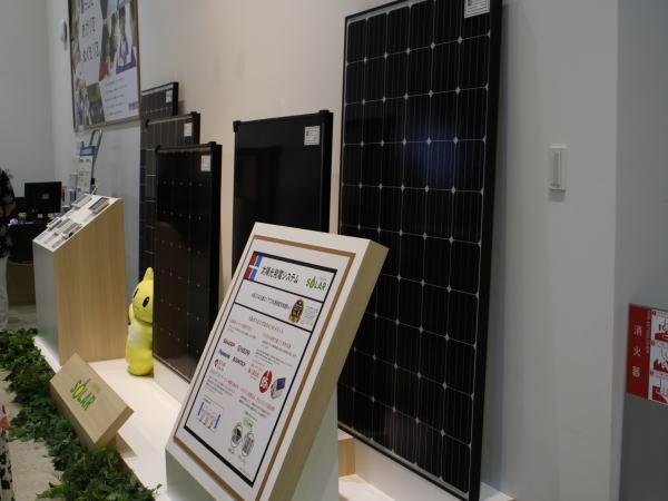 太陽光発電のモジュール