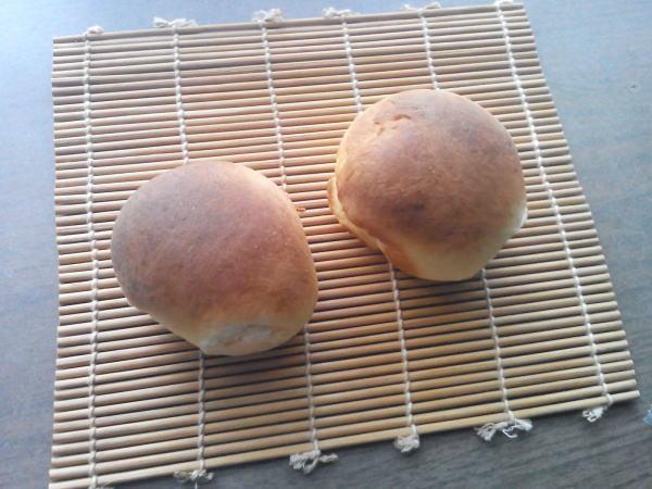 冷凍したパンを自然解凍
