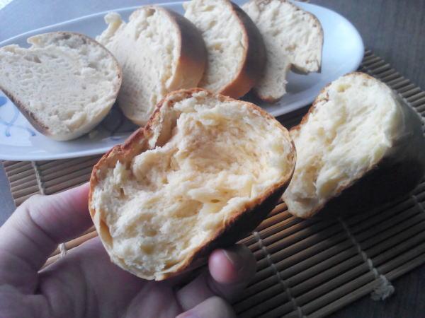 あたため直したパン