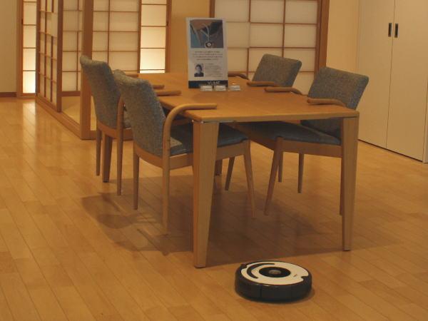 ロボット掃除機のことを考えた家具