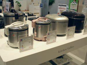 ガスの炊飯器