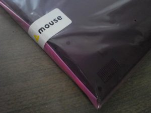 mouseのシール