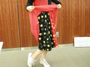 スカートの模様