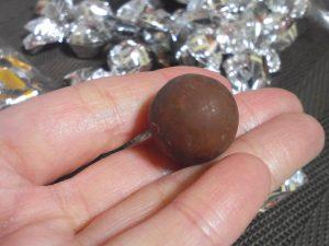 チョコの大きさ