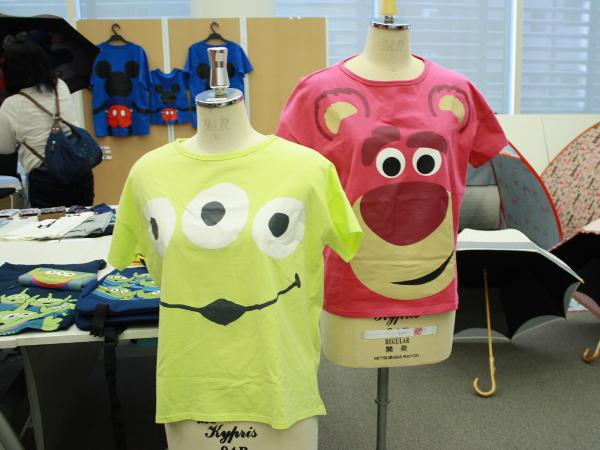 トイ・ストーリーのTシャツ