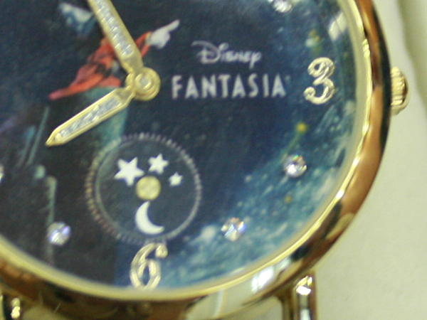 ファンタジア 腕時計の文字盤