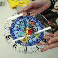 キングダムハーツのアクリル時計
