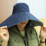 帽子で首の後ろまで日陰を作るなら、「ワイドつば広遮熱ハット」が最強