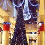 大阪のクリスマス(ディアモール大阪~ヒルトンプラザ周辺)