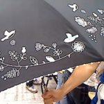 強い日差しや急な雨もお任せ、ミニラボのおしゃれ傘