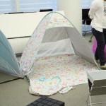 かわいいポップアップテントなら、ベルメゾンのミニラボ・テントがおすすめ!