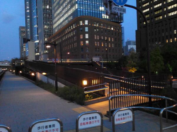 中之島3丁目歩道橋