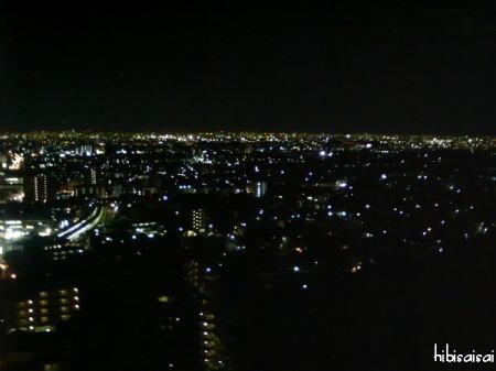 箕面の夜景