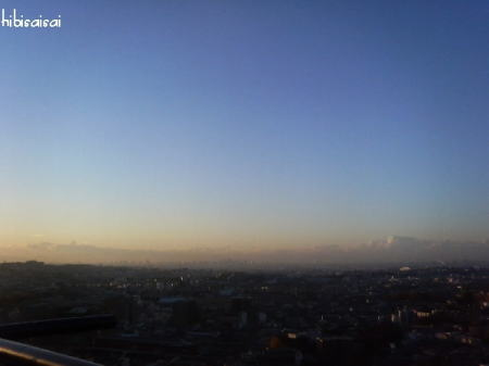 箕面の景色 朝