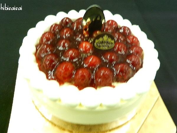 改めて、カサミンゴーのシュス木苺レアチーズケーキ