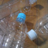 空のペットボトル