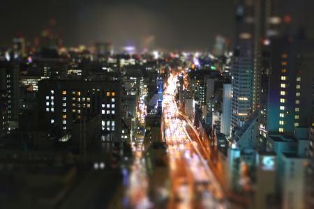 梅田北区 ミニチュア化